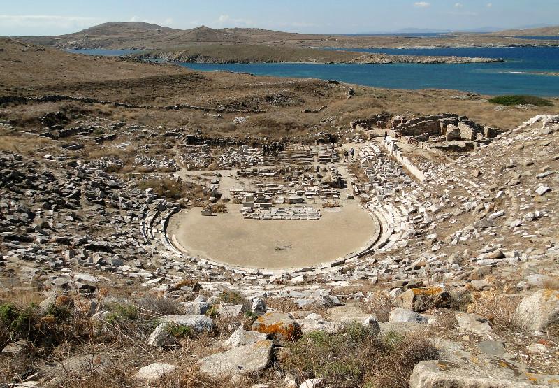 Antikos laikų teatras Delfuose