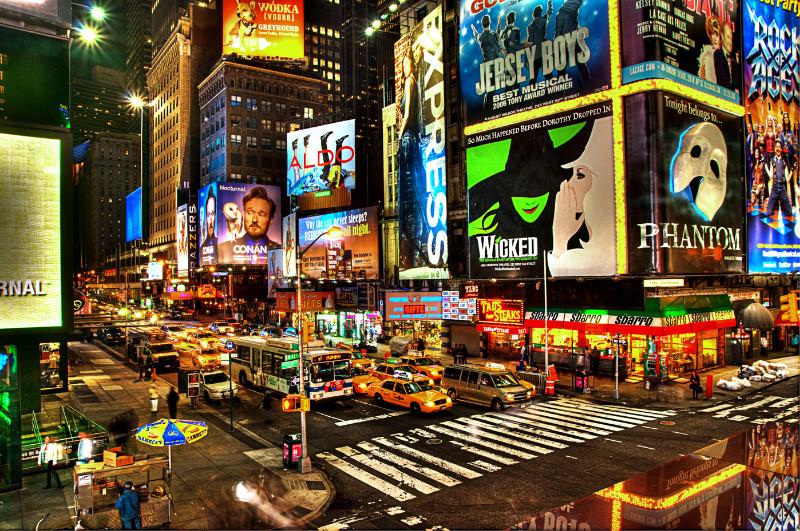 Brodvėjaus teatrų rajonas Niujorke