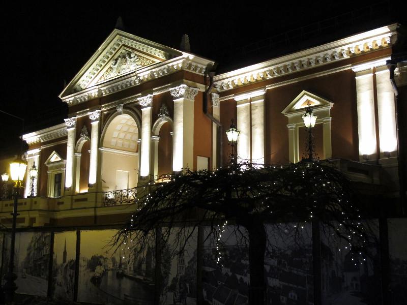 Rekonstruojamo Klaipėdos dramos teatro repeticijų salė kovo 1–23 d. virs visų uostamiesčio teatrų namais – čia vyks jų sukurtų spektaklių festivalis. Klaipėdos dramos teatro nuotr.