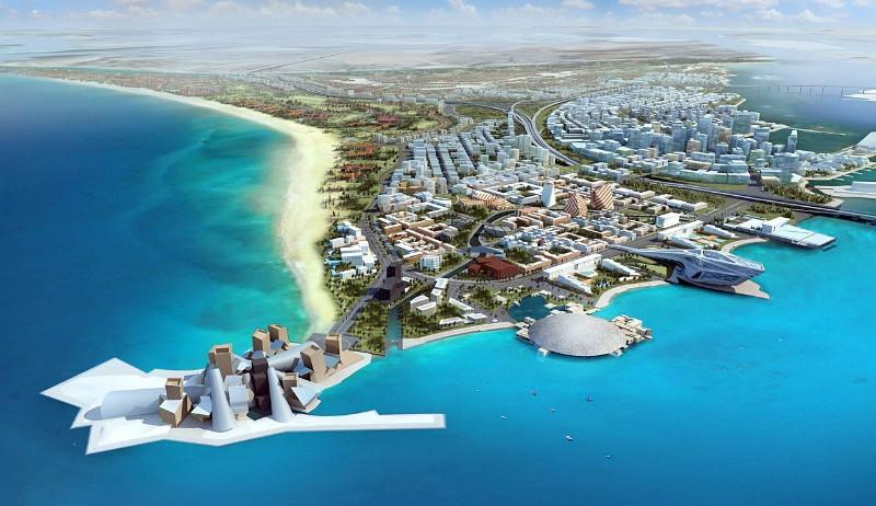 Abu Dabio kultūros kvartalo projektas