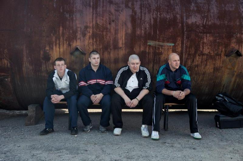 """Kadras iš E.Vėlyvio filmo """"Redirected / Už Lietuvą!"""", sukėlusio didelį publikos susidomėjimą. Pauliaus Makausko nuotr."""