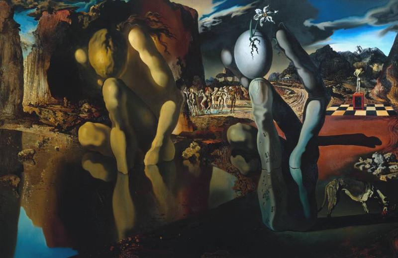 """""""Narcizo metamorfozė"""", 1937 m."""