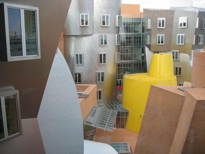 Frankas O. Gehry. Stata centras Kembridže, JAV. Šaltinis – wikimedia.org.