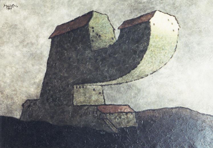 """Georges Malkine'as. A. Bretono namas (serija """"Būstai žymiems žmonėms""""). Šaltinis – oeuvresouvertes.net."""