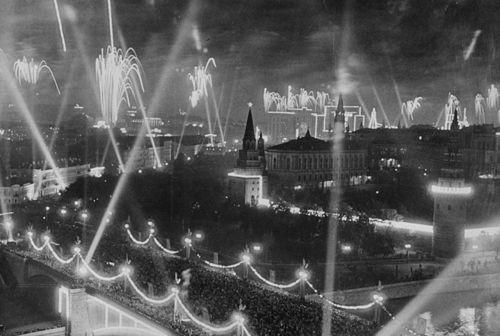 Spalio revoliucijos 20-mečio šventė Maskvoje, 1937 m.