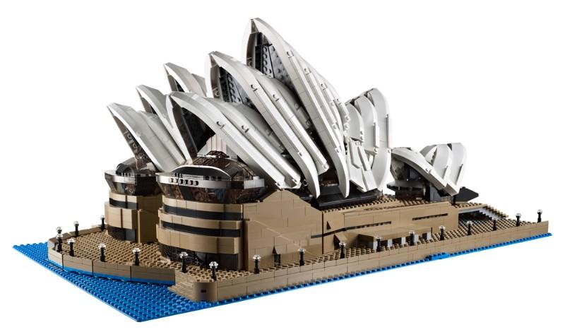 Sidnėjaus operos rūmai iš LEGO kaladėlių. © LEGO Group nuotr.