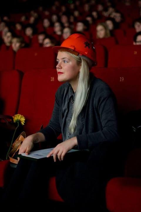 2013 metų trumpametražių filmų konkursinės programos nugalėtoja estė Maria Reinup. Organizatorių nuotr.