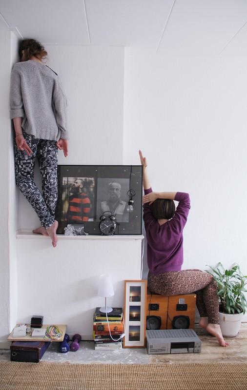 """Justina Nekrašaitė ir Anastasija Piroženko """"Bookstore"""" rezidencijoje"""