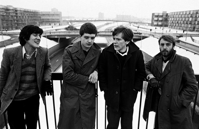 """""""Joy Division"""" Mančesteryje, 1979 m. sausio 6 d. Kevino Cumminso nuotr."""