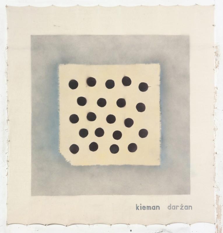 """E. Ridikaitės paveikslas """"Kieman, daržan"""" iš ciklo """"Palikimas. Babutas skarialas"""""""