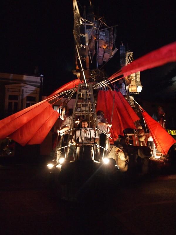 """Aštuntosios dienos teatro"" (Teatr Ósmego Dnia, Lenkija) spektaklis ""Laivas"""