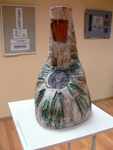 """Parodos Šventosios galerijoje, Virginijos Laužadienės """"Birutės kalnas""""."""