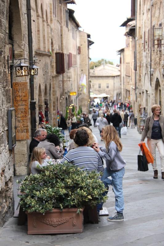 Italija, Florencija. Judri gatvelė.