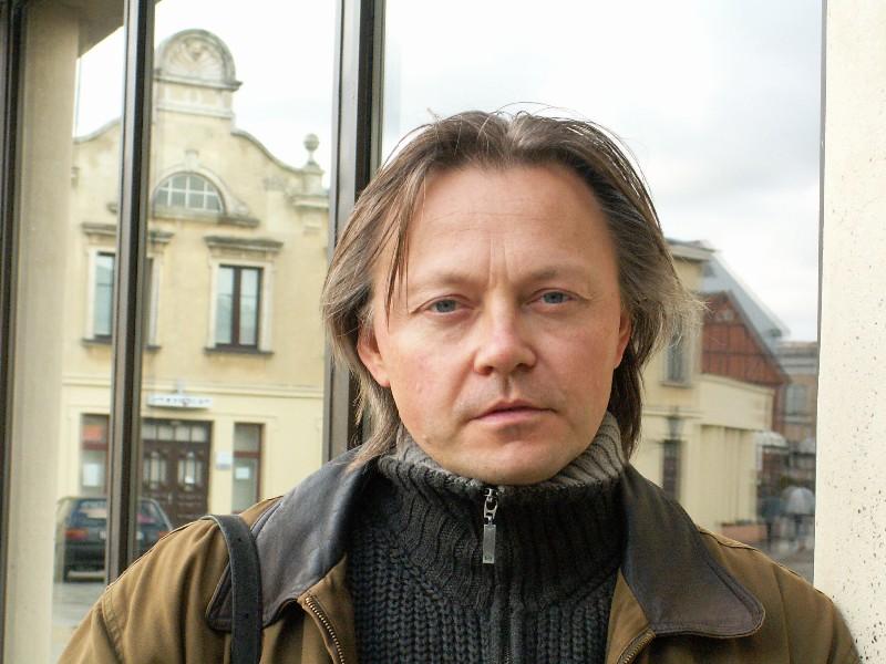 Klaipėdos dramos teatro aktorius Darius Meškauskas. Nerijaus Jankausko nuotrauka