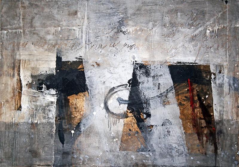 """Anatolijaus Klemecovo tapybos ciklas """"Metamorfozės"""", Nr. 4"""