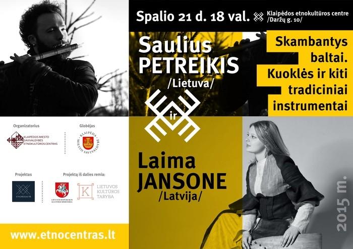 Afiša Baltiškasis duetas