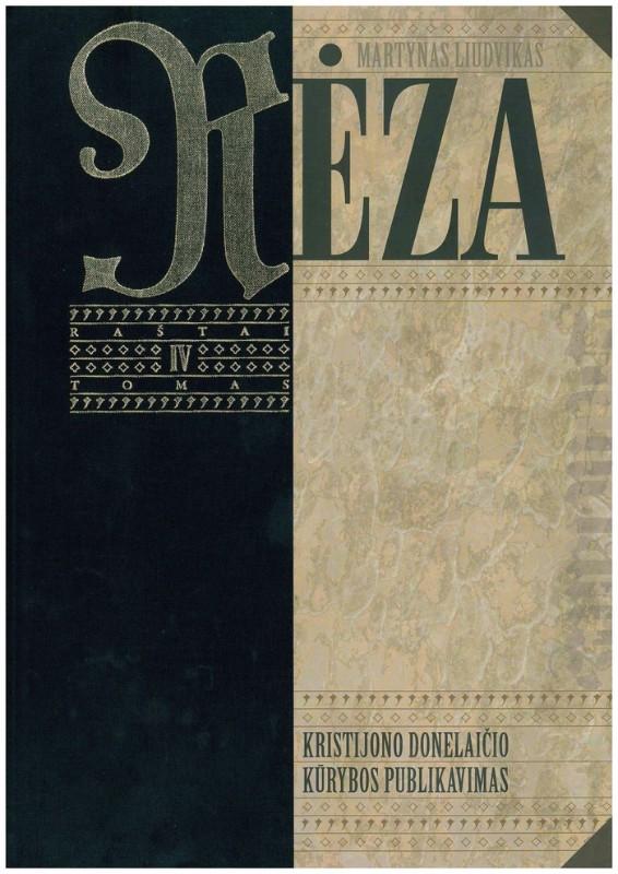 M.L. Rėzos raštų pristatymas