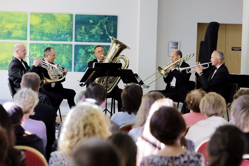 Klaipedos brass kvintetas_foto V.Petrikas 1