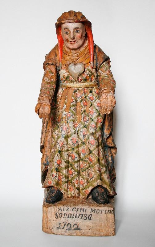 Seniausias datuotas Kretingos muziejaus rinkinio eksponatas. Pieta. 1722 m.