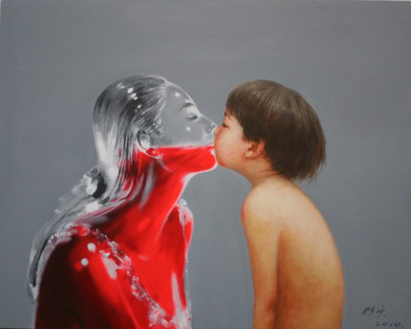 Wu_Mingzhong_One_Love_Acrylic_on_Canvas