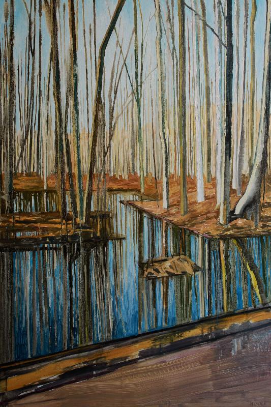 Mykole_Roadside 1_Oil_canvas_120x80cm_2016