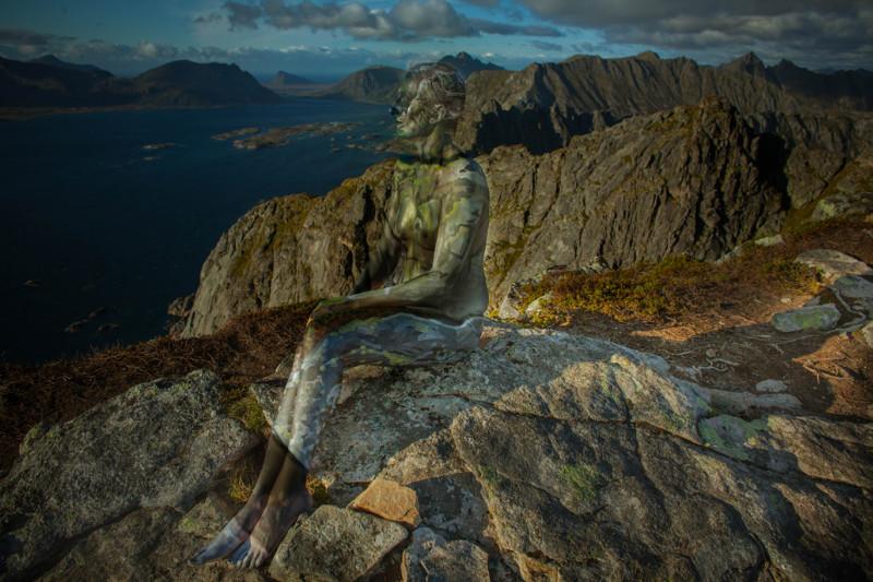 Lofoten_MountainWomen_PhotoBodypaint_Vilija_Vitkute