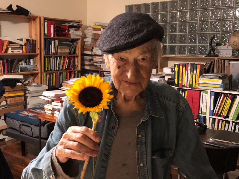 jonas_mekas_sunflower