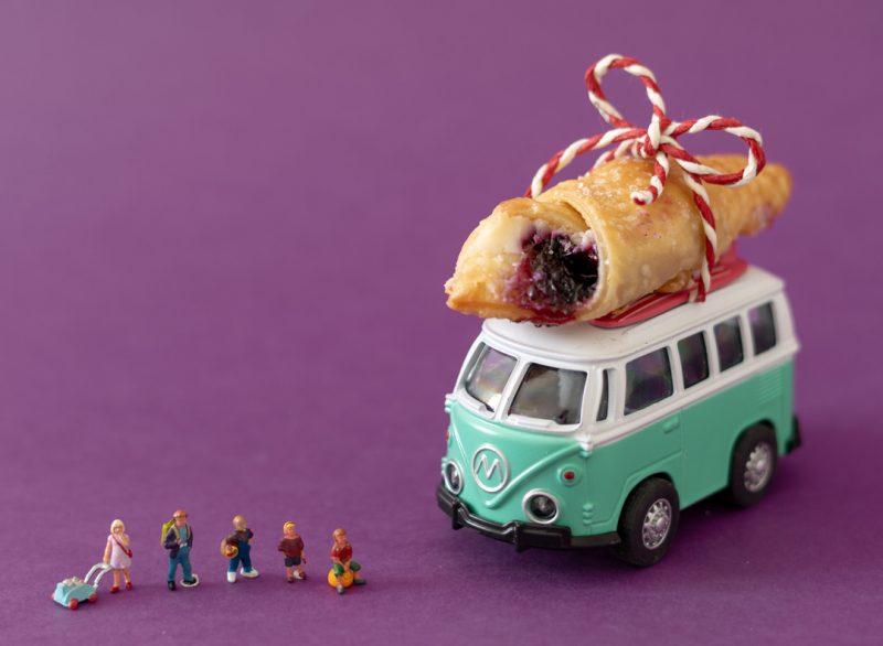"""Mažasis pasaulis """"Biržų duonos"""" nuotraukoje."""