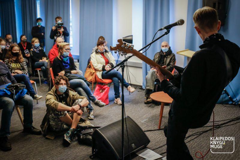 Nėriaus Pečiūros koncertas. Vytauto Petriko nuotr.