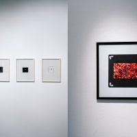 """Dovilės Dagienės ir Aurelijos Maknytės darbai parodoje """"Prarastas laikas"""" Mažojoje Arsenalo galerijoje. 2020 m. Organizatorių nuotr."""