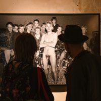 """Virgilijaus Šontos fotografijų paroda """"Apnuogintas"""" erdvėje """"The Naked Room"""". 2020 m. Organizatorių nuotr."""