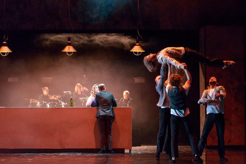 """Šokio spektaklis """"Faustas"""". Martyno Aleksos nuotr."""