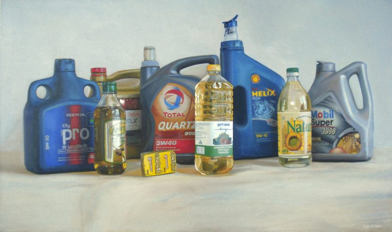 "Rodionas Petrovas. ""Oil on canvas"". 2010. Drobė, aliejus."