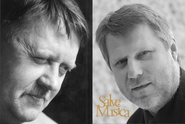 Kompozitoriai Vidmantas Bartulis ir Faustas Latėnas. Organizatorių archyvo nuotr.