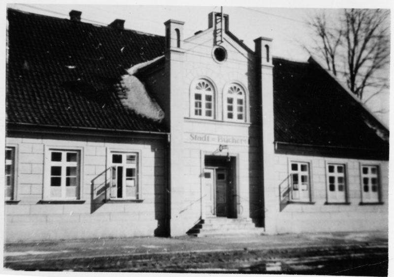 Pirmoji viešoji Klaipėdos miesto biblioteka. Organizatorių archyvo nuotr.
