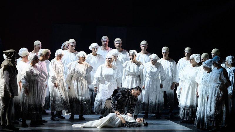 """G. Kuprevičiaus opera """"Prūsai"""". Martyno Aleksos nuotr."""