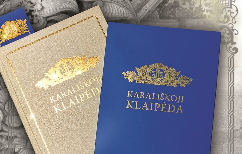 """Jovitos Saulėnienės knygos """"Karališkoji Klaipėda"""" viršelis. """"Drukos"""" nuotr."""