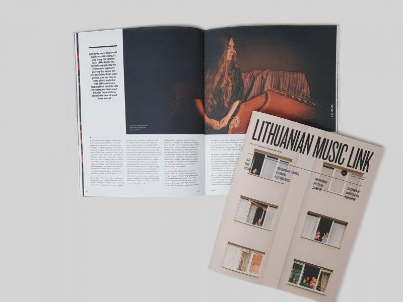 """Išleistas naujausias žurnalo """"Lithuanian Music Link"""" numeris. Organizatorių archyvo nuotr."""