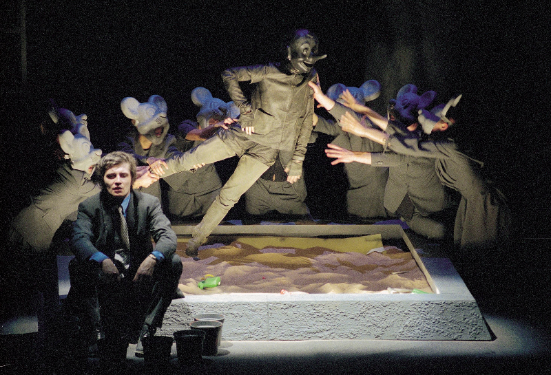 """Sofoklio """"Oidipas karalius"""" (rež. O. Koršunovas). Dmitrijaus Matvejevo nuotr."""