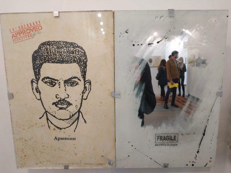 """Anatolijus Klemencovas, """"Identitetų laikai"""" (2008 m.). Meno mugė """"ArtVilnius'20"""". Autoriaus archyvo nuotr."""
