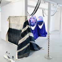 """Žanetos Jasaitytės-Bessonovos parodos """"Euforija"""" ekspozicijos fragmentas. Autorės nuotr."""