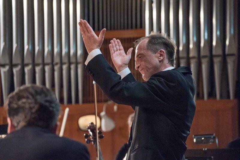 Dirigentas Dmitrijus Zlotnikas. KVMT archyvo nuotr.
