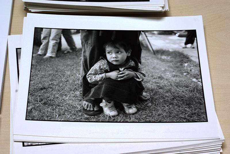 Bibliotekai perduotas Edžio Jurčio fotografijų archyvas. Organizatorių nuotr.