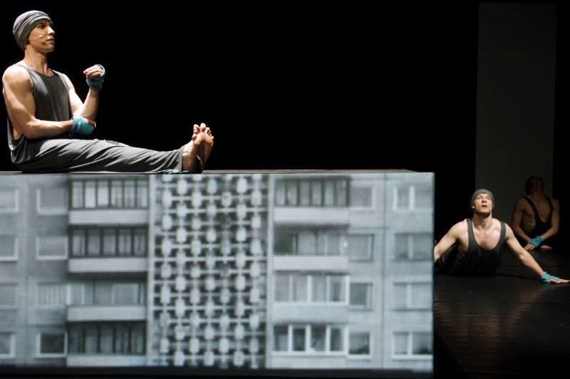 """Šokio opera """"Dykra"""" festivalyje """"Naujasis Baltijos šokis"""". Vilnius, 2011 m. Dmitrijaus Matvejevo nuotr."""