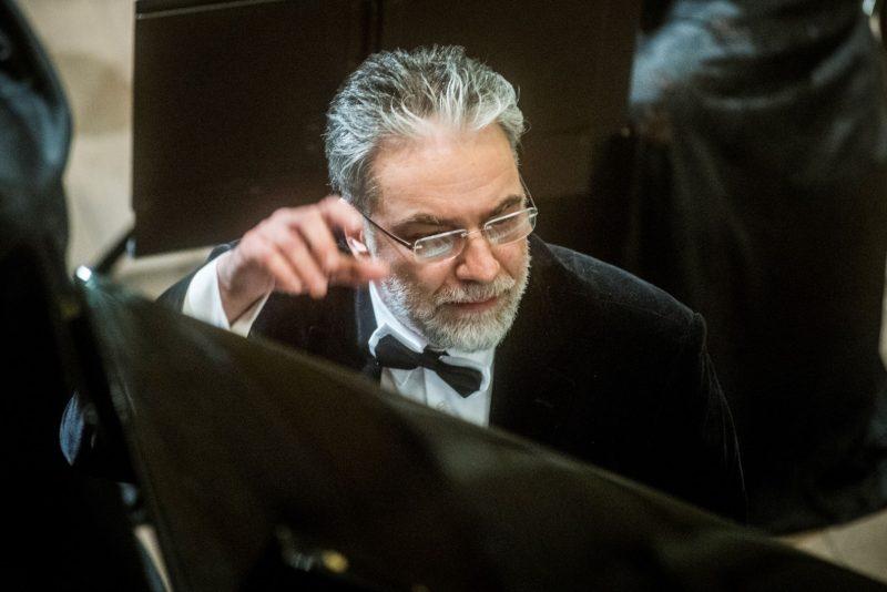 Pianistas Petras Geniušas. Dmitrijaus Matvejevo nuotr.