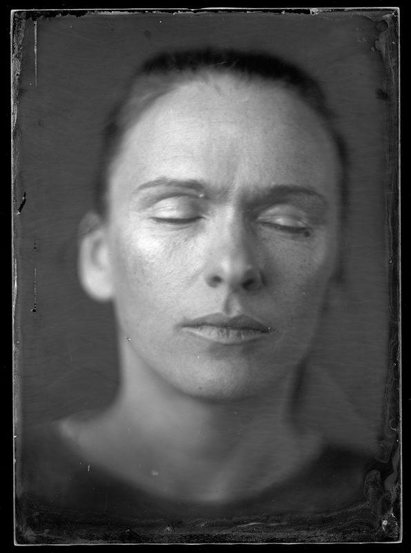 """Artūras Šeštokas. Aistė. Iš ciklo """"Portretas Nr. 21""""."""