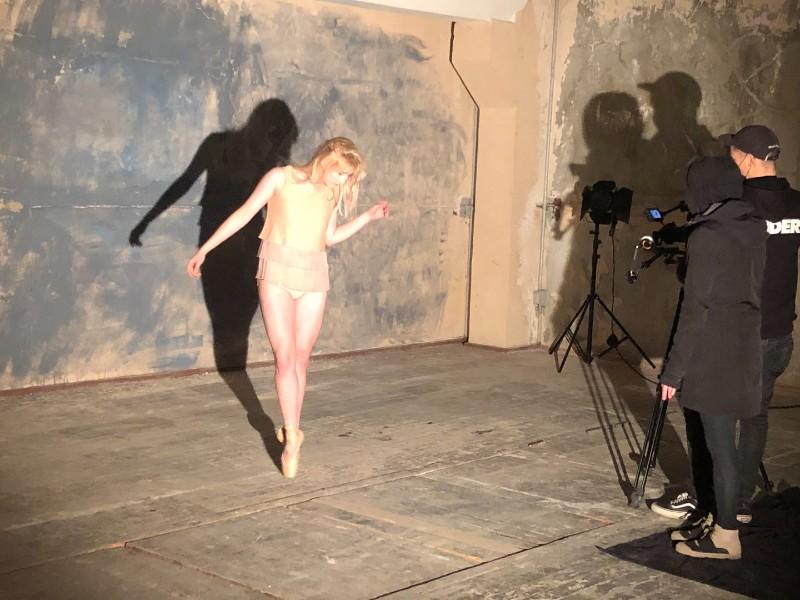 "Iryna Suslo. Šokio spektaklio ""Faustas"" fotosesija. KVMT nuotr."