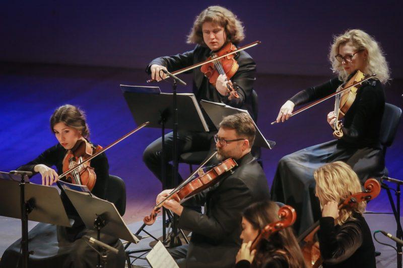 Klaipėdos kamerinis orkestras. Vytauto Petriko nuotr.