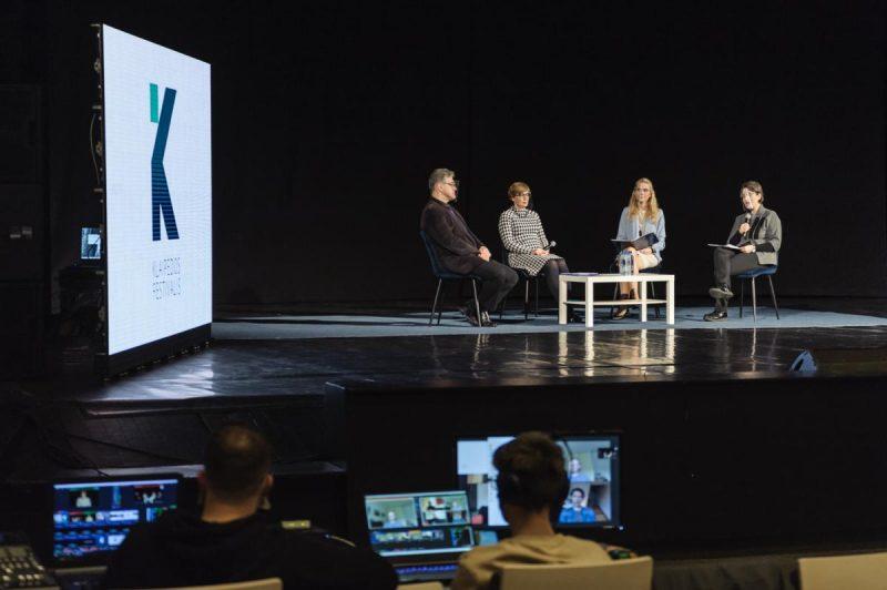 Tarptautinis Klaipėdos festivalis buvo pristatytas spaudos konferencijoje. Olesios Kasabovos nuotr.