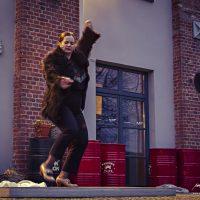 """""""Lange į teatrą"""" Greta Seiliūtė šoka flamenką. Augustino Našlėno nuotr."""